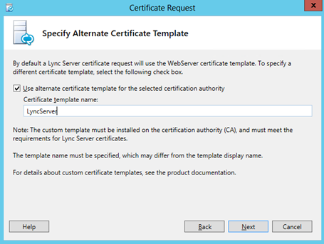 Lync increase internal certificate validity period www now you dont need to worry about lync internal certs for 5 years yelopaper Gallery